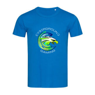 T-shirt uomo Cybergroung Gaming® - KING BLUE