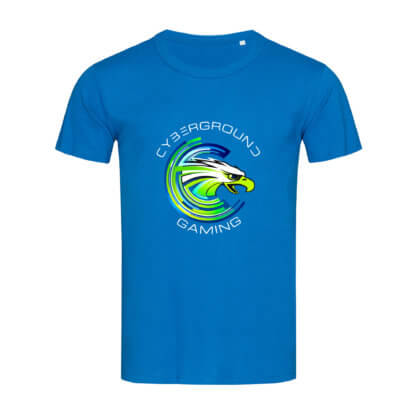 T-shirt uomo Cybergroung Gaming® - KING BLUE