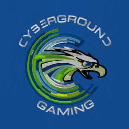 Felpa cappuccio e zip ufficiale Cyberground Gaming® - ROYAL