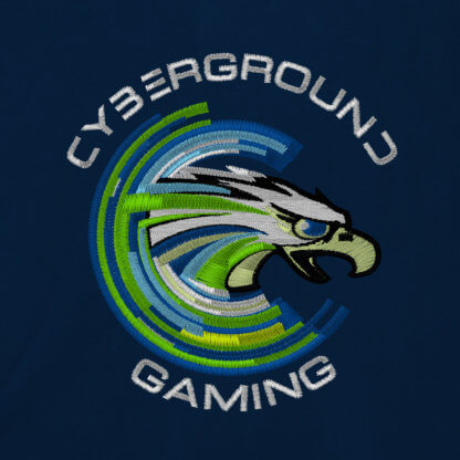 Felpa versity ufficiale Cyberground Gaming® - NAVY