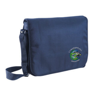 Borsa portacomputer ufficiale Cyberground Gaming® NAVY