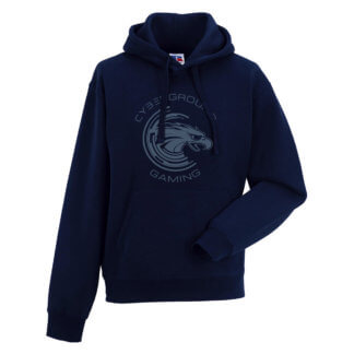 Felpa cappuccio ufficiale Cyberground Gaming® - FRENCH NAVY