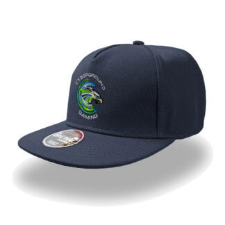 Cappellino Snap5 ufficiale Cyberground Gaming® NAVY