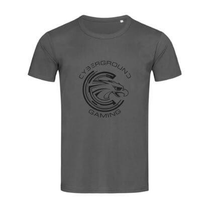 T-shirt uomo Cybergroung Gaming® - SLATE GREY